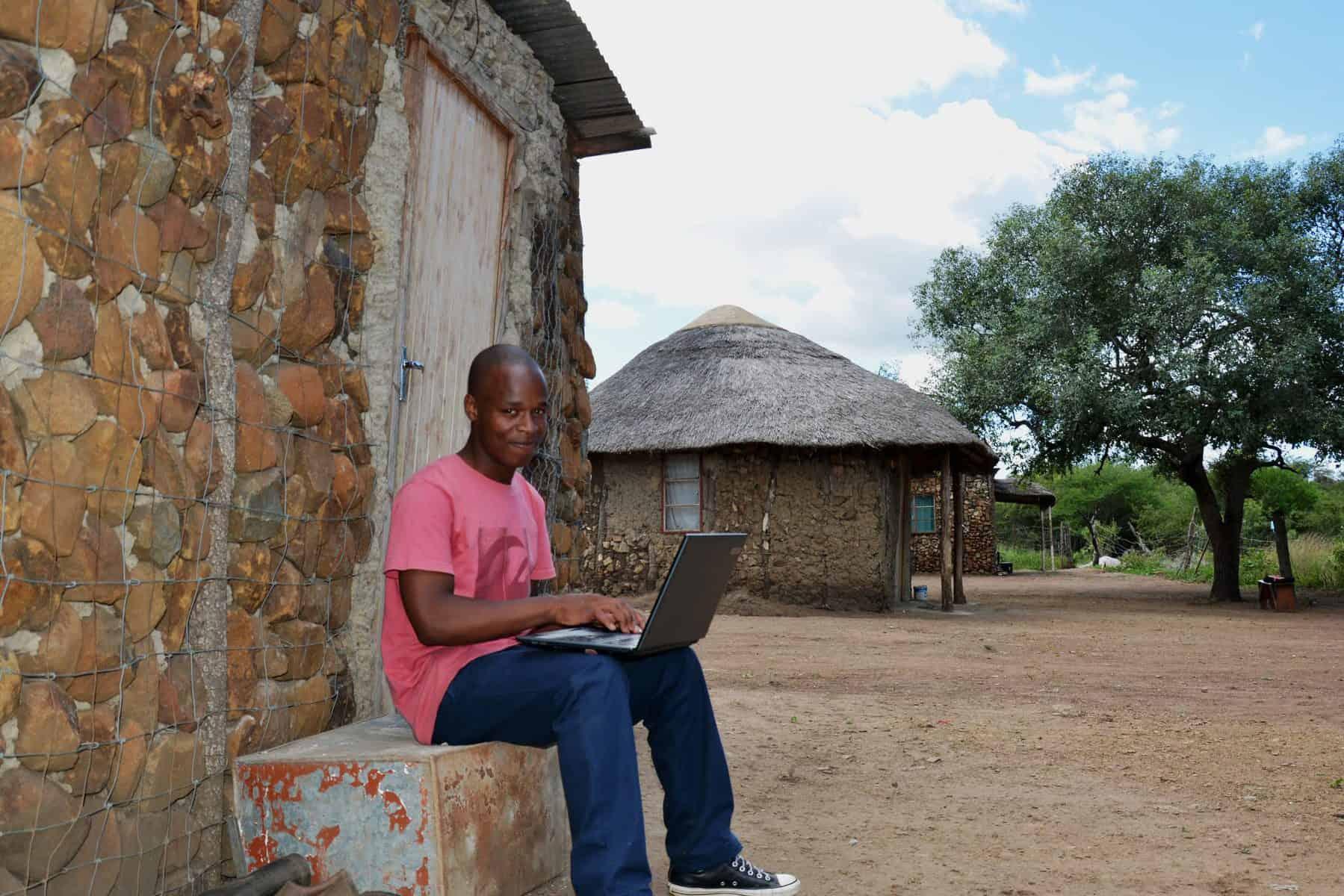 Malibongwe fra Magudu er snart ferdig utdannet elektroingeniør med hjelp fra Zuluklubben