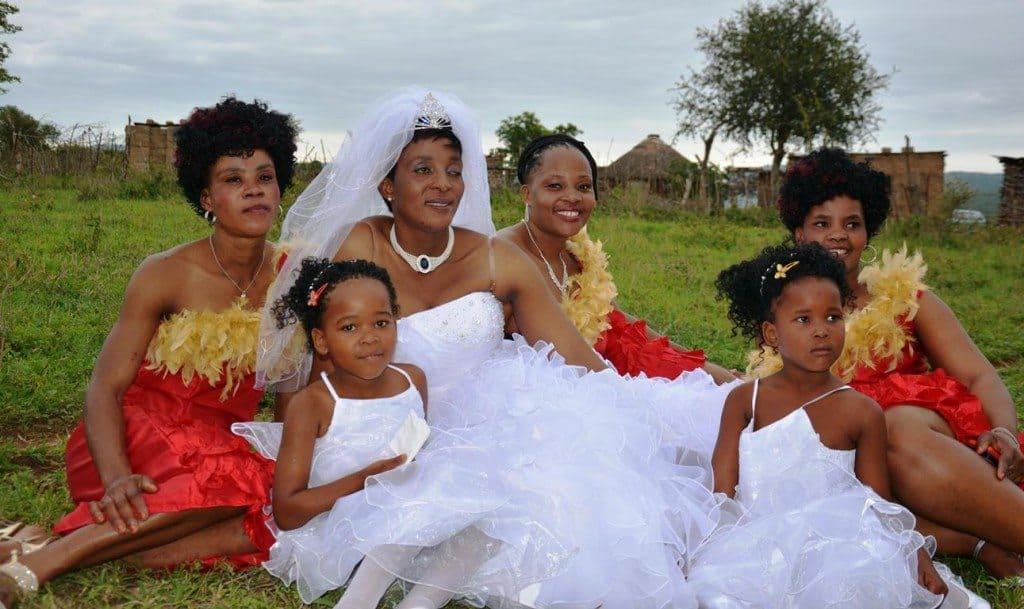 Hvit brud i Zululand