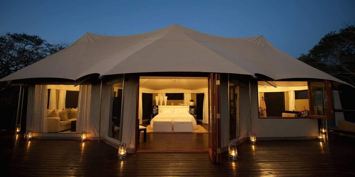 Teltene i Thanda er som skapt for romantikk!