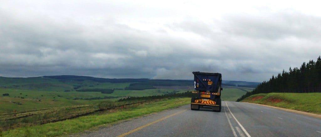 På vei fra Johannesburg til Pongola